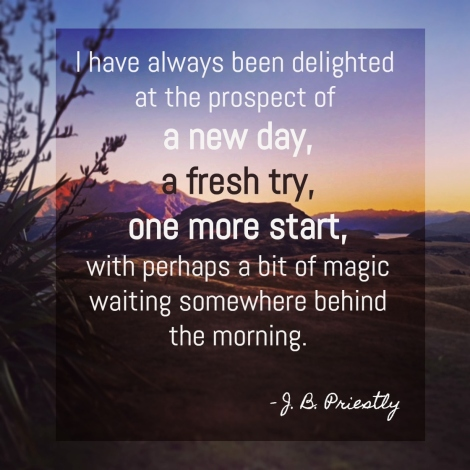 travel quote J.B. Priestly
