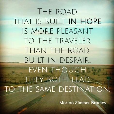 travel quote Marion Bradley
